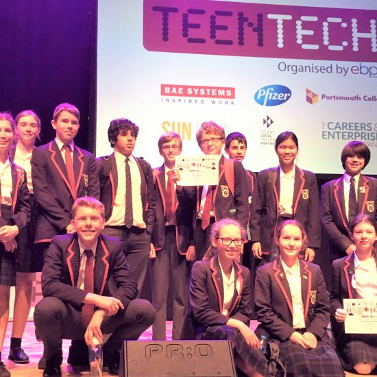 Ballard School Wins Top Awards at TeenTech Solent Engineering Challenge