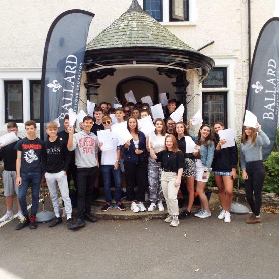 Ballard pupils achieve great GCSE results yet again